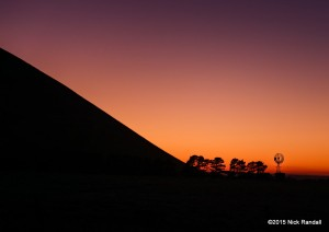 Mt Elephant at Dawn -by Nick Randall